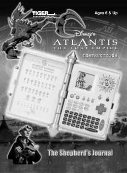 Disney Atlantis Tiger Hasbro The Shepherds Journal