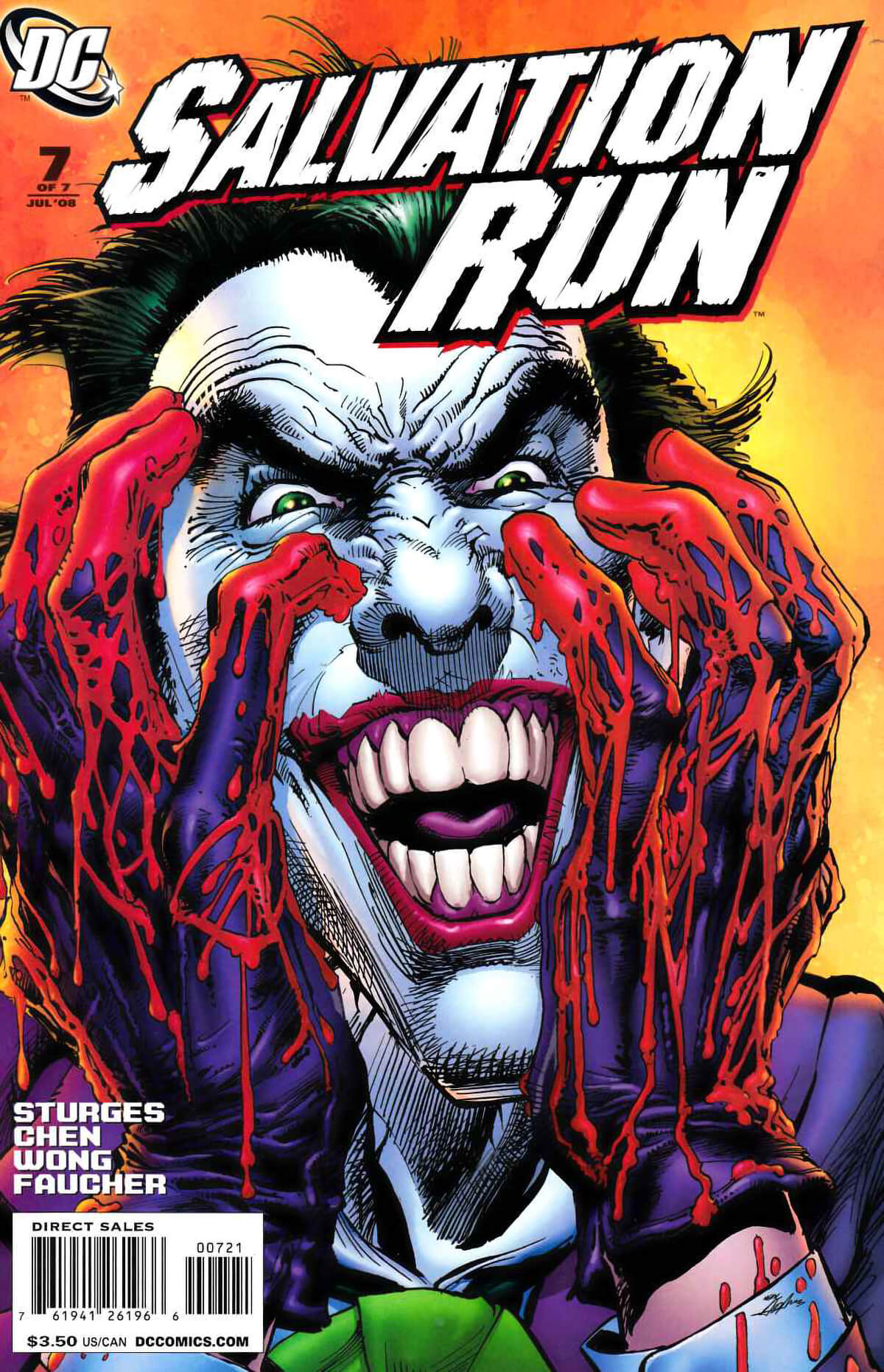 Salvation Run #7 DC Comics