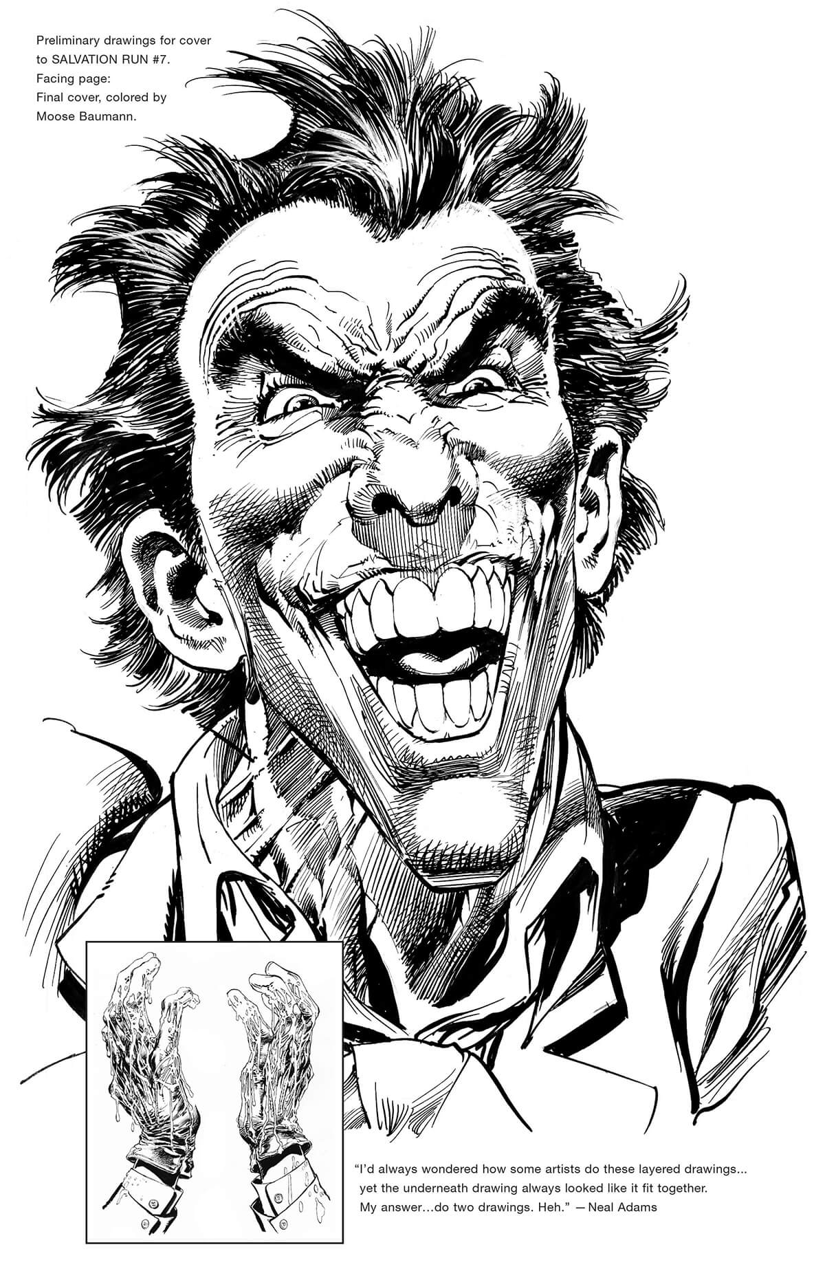Salvation Run #7 Cover by Neal Adams