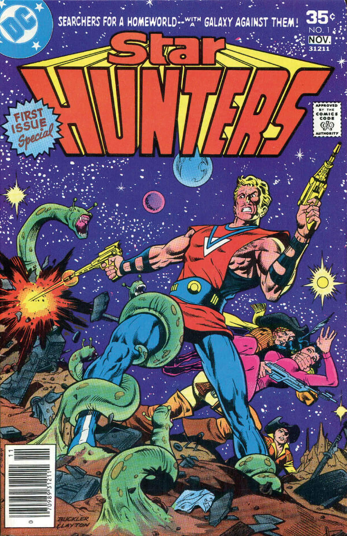 Star Hunters #1 published by DC Comics