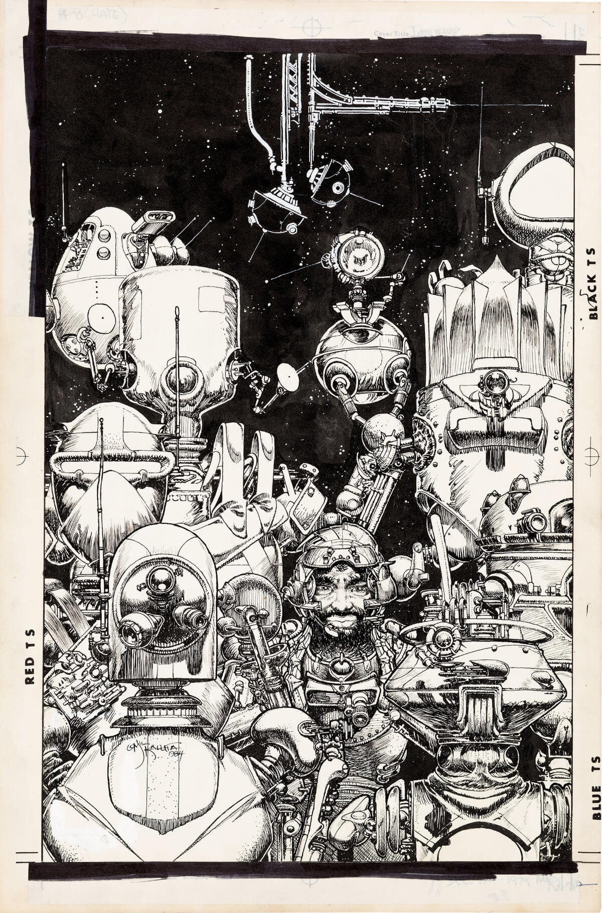 Illustration by Michael Wm Kaluta