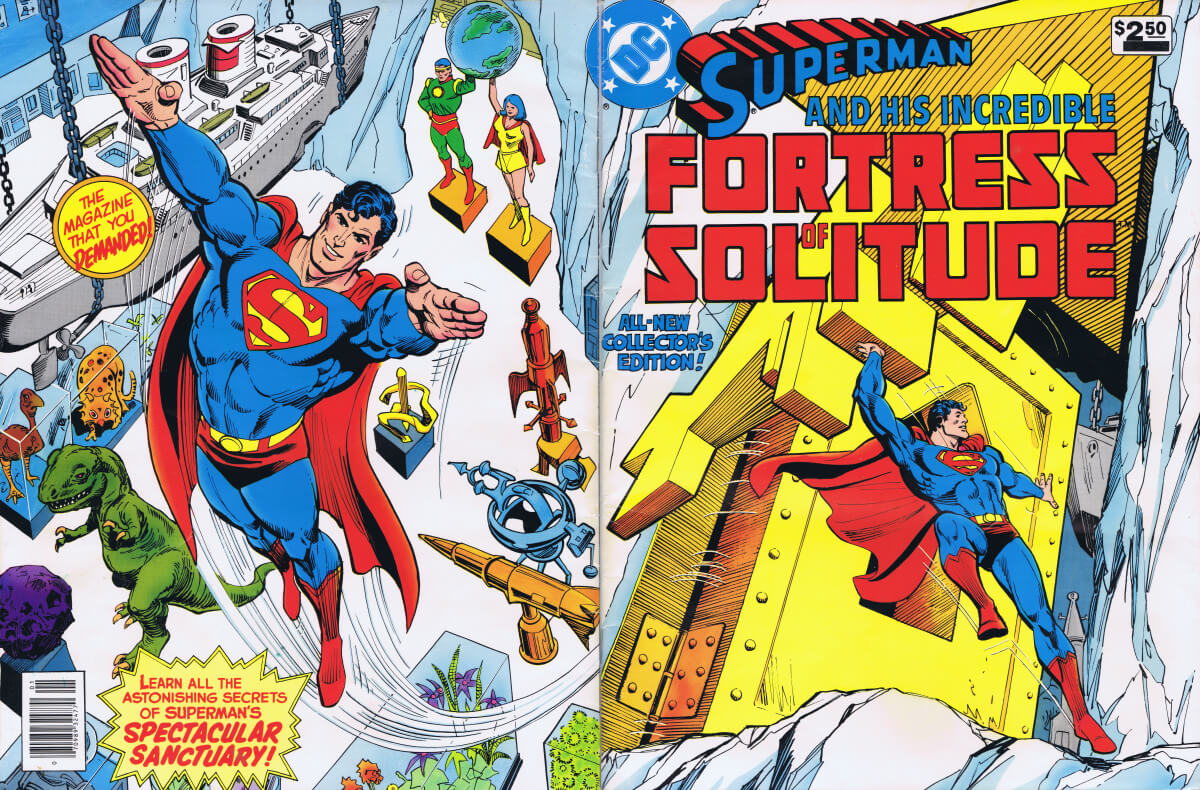 DC Special Series 26 Superman and His Incredible Fortress of Solitude