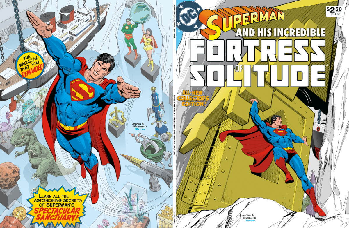 DC Special Series 26 Superman Fortress Solitude 4