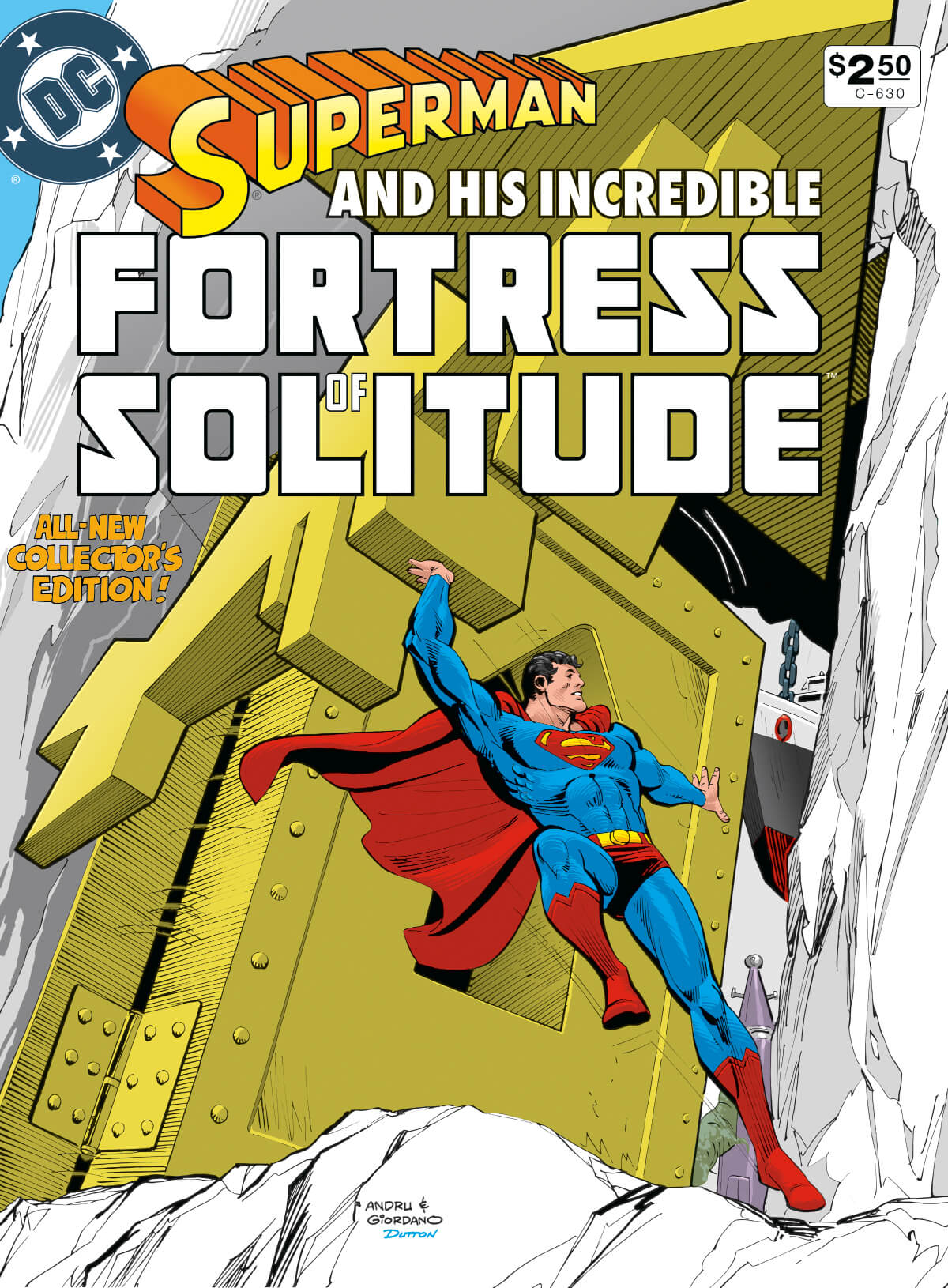 DC Special Series 26 Superman Fortress Solitude 5