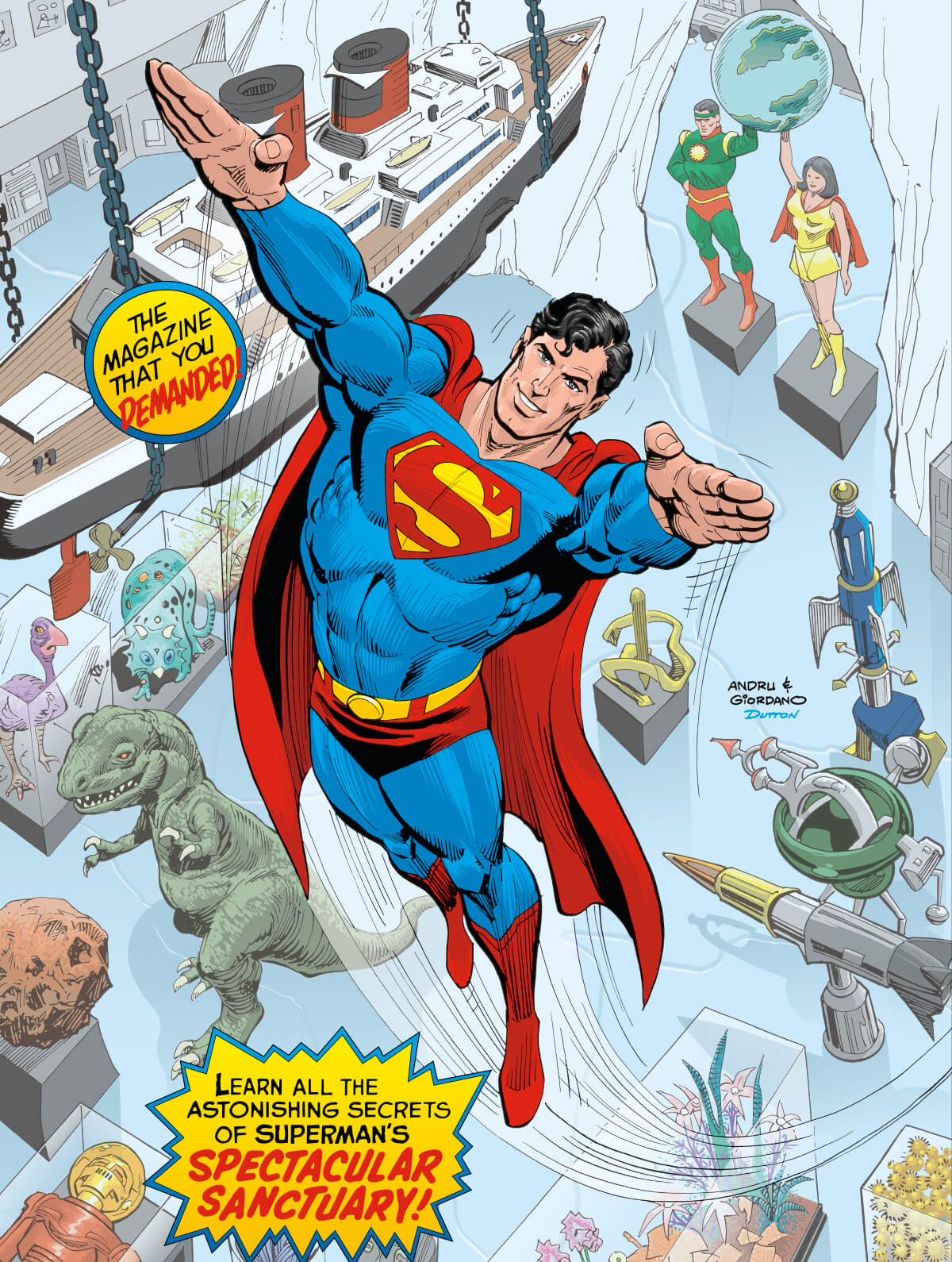 DC Special Series 26 Superman Fortress Solitude 6