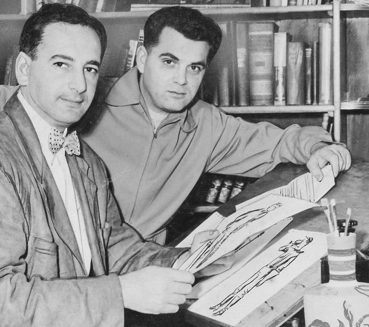 Joe Simon and Jack Kirby