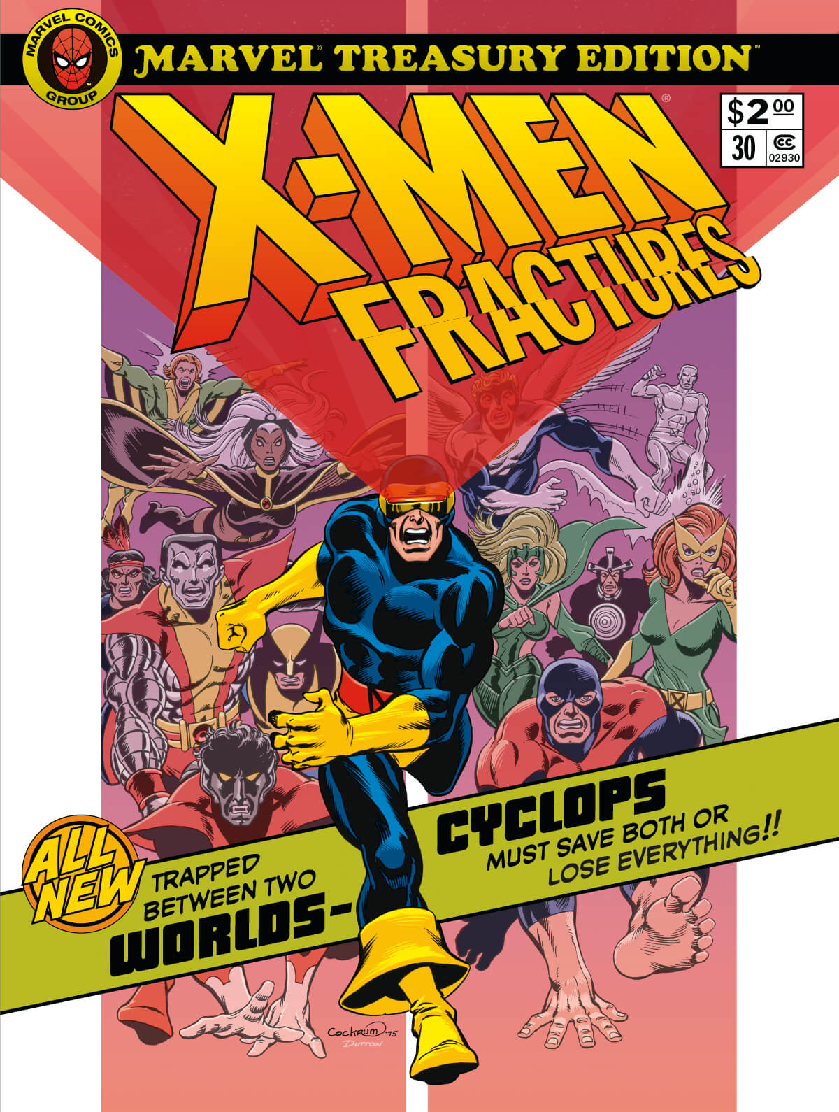 Marvel Treasury Edition 30 X-Men Fractures