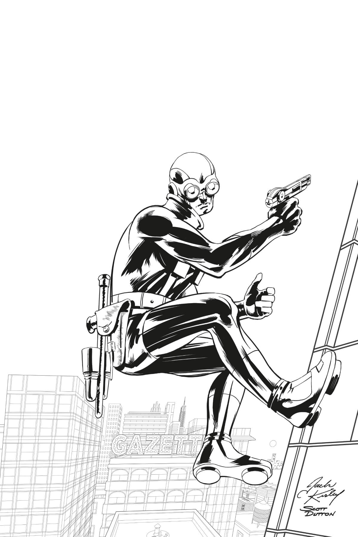 Inking by Scott Dutton